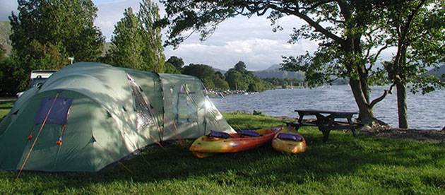 Camp in the Lakes
